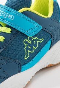 Kappa - DROUM II UNISEX - Sports shoes - blue/yellow - 2
