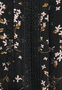 Forever New - LACE SPLICED SKATER - Kjole - black jasmine - 2