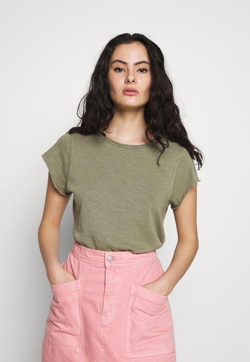 American Vintage - SONOMA - T-shirts - verveine vintage