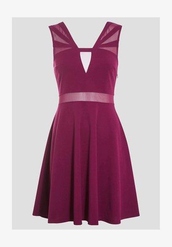 Cocktail dress / Party dress - violet foncé