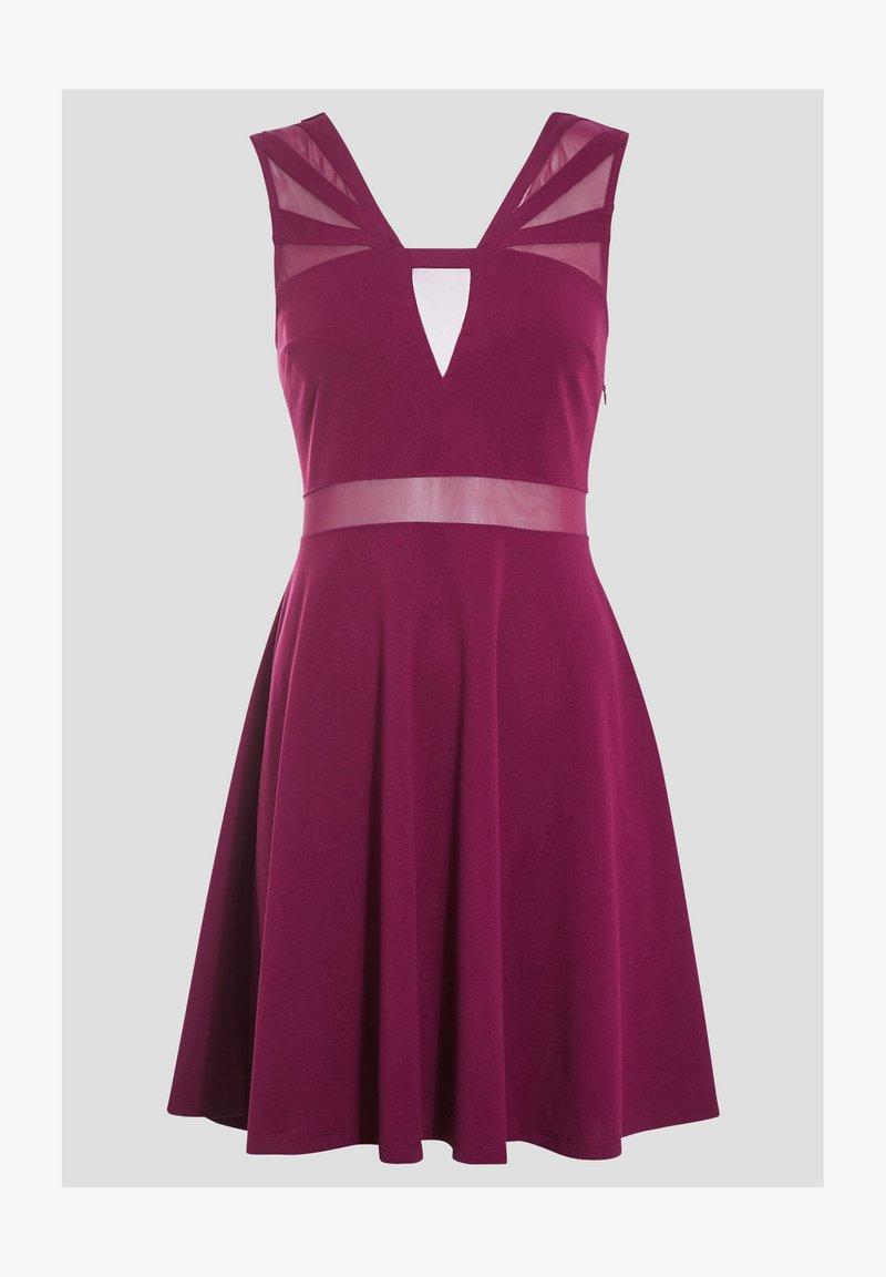 Cache Cache - Cocktail dress / Party dress - violet foncé