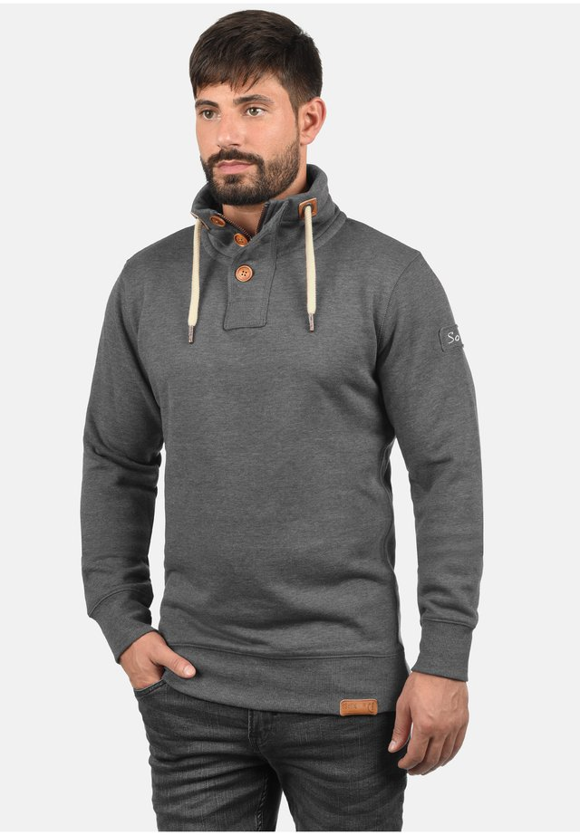 TRIPTROYER - Sweatshirt - grey melange