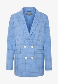 mine to five TOM TAILOR - MODERN GLENCHECK - Blazer - blue/check design - 4