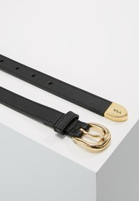 Lauren Ralph Lauren - SOFT GRAIN BENNINGTON - Belt - black - 2
