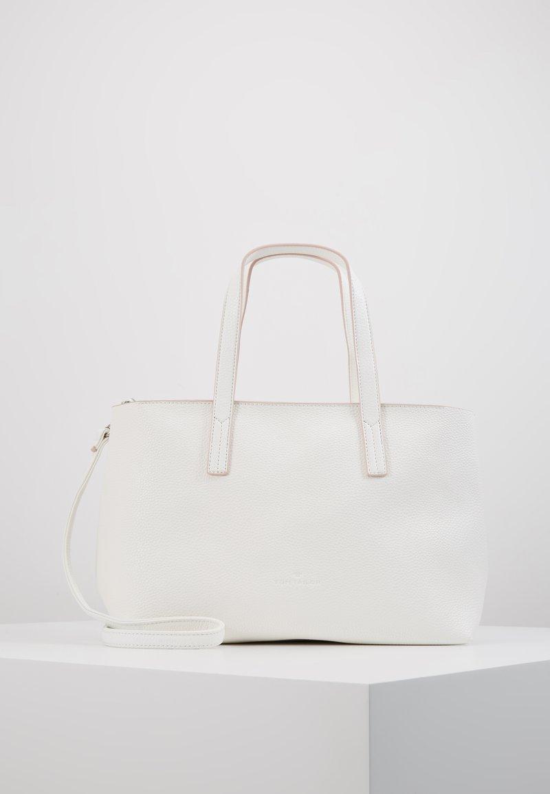 TOM TAILOR - MARLA - Shopping Bag - white