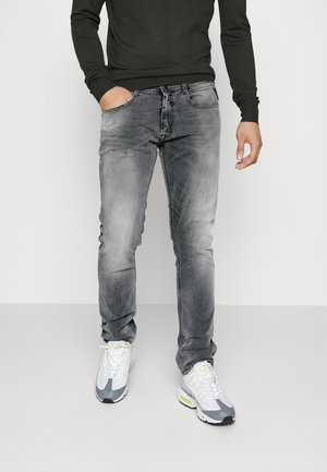 ROCCO - Jeans straight leg - grey denim