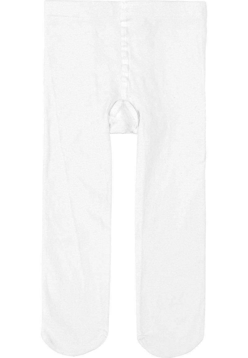 Calzedonia - ULTRA BLICKDICHTE STRUMPFHOSE AUS BAUMWOLLE - Tights - White