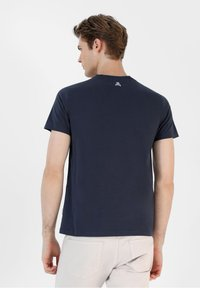 Scalpers - Print T-shirt - navy - 1