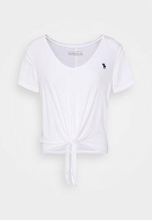 TEE - T-shirts med print - white
