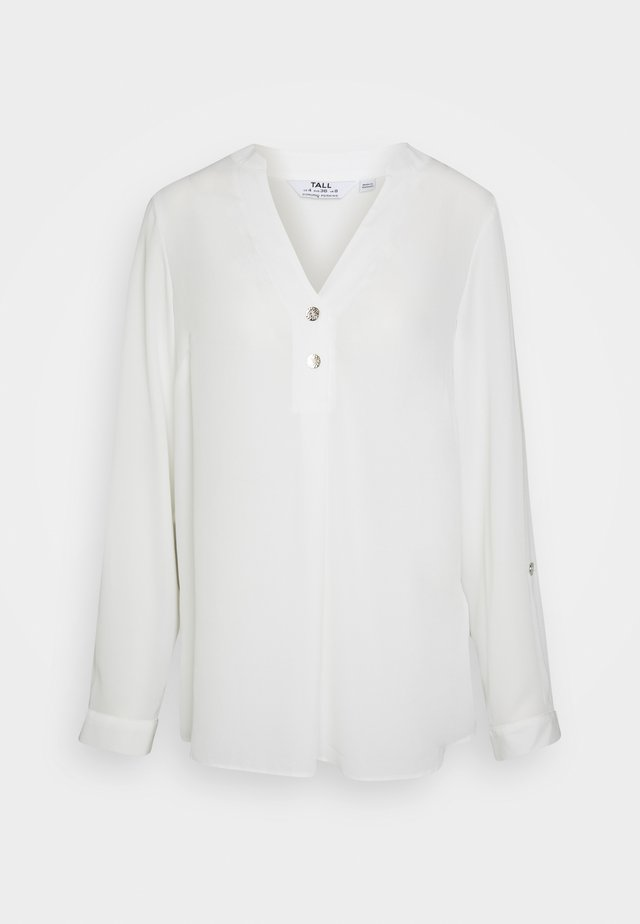 ROLL SLEEVE - Blouse - ivory