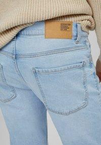 Bershka - Slim fit jeans - light blue - 3