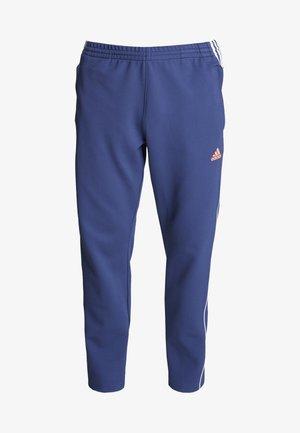 STRIPE COLLECTION DOBBY PANT - Teplákové kalhoty - tech indigo