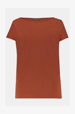 T-shirt basic - marone