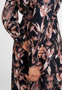 Kaffe - KASTELLA SHIRT DRESS - Maxi dress - black deep - 7