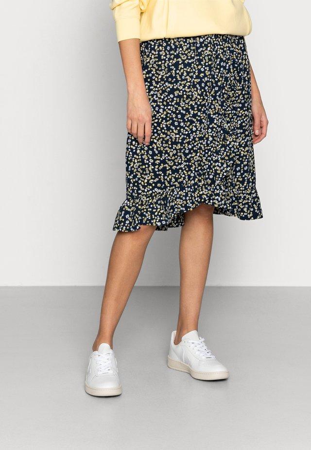 KARNA BEACH SKIRT - A-line skirt - cap flower
