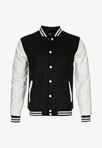 OLDSCHOOL COLLEGE - Light jacket - black / white