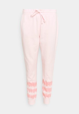 TIE DYE - Tracksuit bottoms - pink