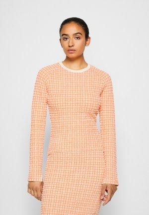 JUMPER - Jersey de punto - cantaloupe orange