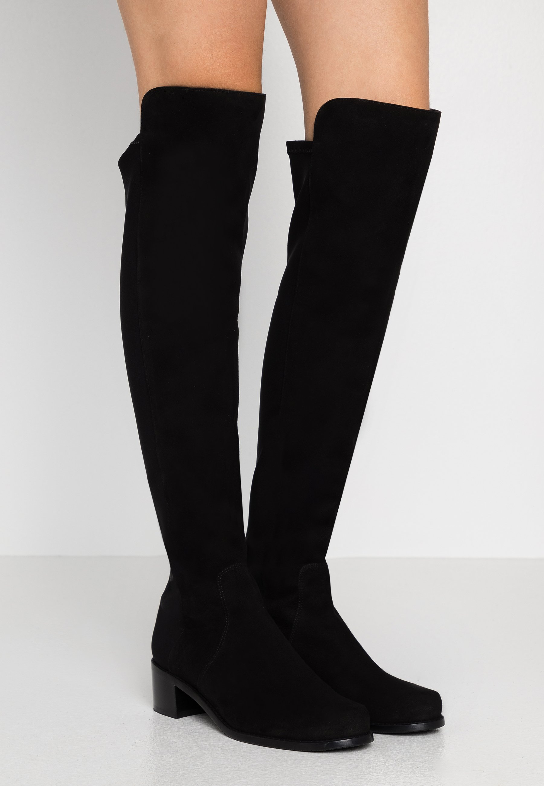 Women RESERVE - Over-the-knee boots - black