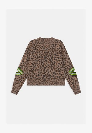NOUNJA ANIMAL FASHION - Sweater - multicolor/brown