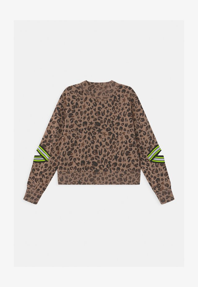 NOUNJA ANIMAL FASHION - Sweatshirt - multicolor/brown