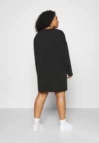 Tommy Jeans Curve - TEE DRESS - Day dress - black - 2