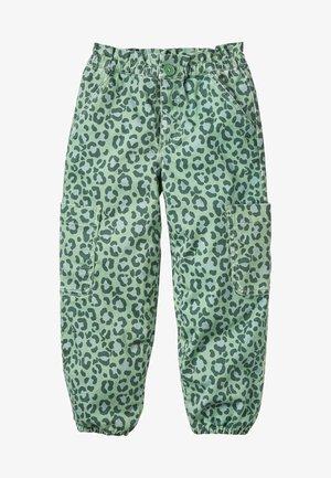Trousers - rosmaringrün, leopardenmuster