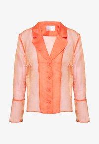 HOSBJERG - JASMINE - Button-down blouse - orange - 4