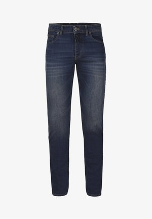 BASIC  - Jeansy Slim Fit - dirty blue