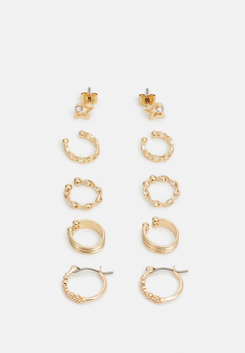 Pieces - PCKLARY EARRINGS 5 PACK - Oorbellen - gold-coloured