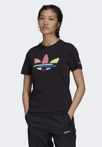 adidas Originals - Print T-shirt - black - 0