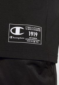 Champion - LEGACY TRAINING CREWNECK SLEEVELESS - Funktionströja - black - 5