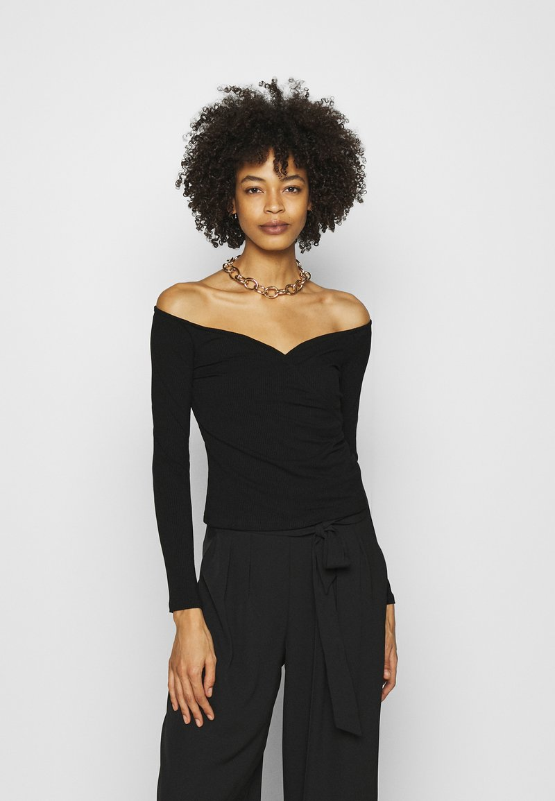 Guess - SONAY - Long sleeved top - jet black