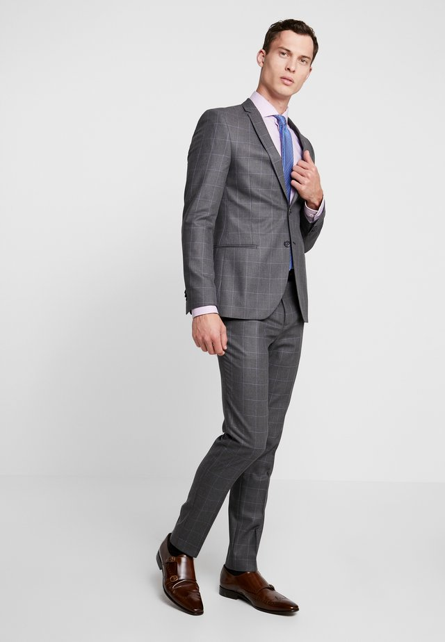 BALESTRAND - Suit - charcoal