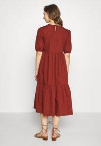 Pieces - PCPARSLEY  - Day dress - dark brown - 2