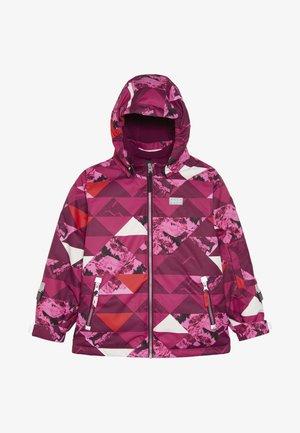 JOSEFINE 721 JACKET - Ski jacket - dark pink