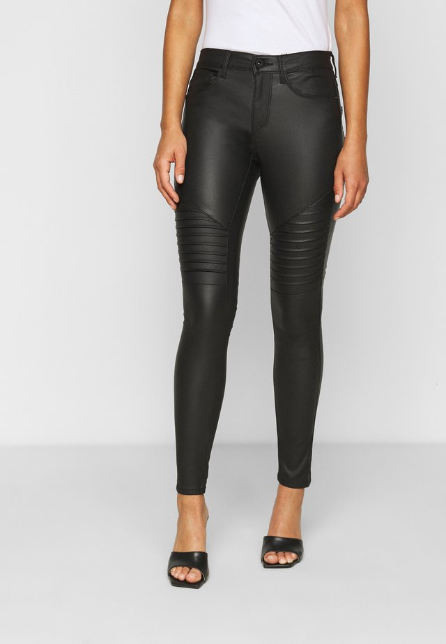 ONLNEW ROYAL BIKER - Jeggings - black