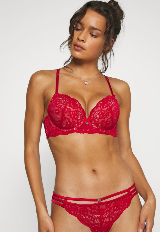 JETTE BY LASCANA TEMPTATION BRA - Push-up bra - red