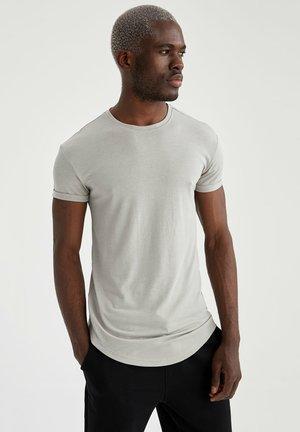 BASIC T-SHIRT - T-shirt - bas - grey