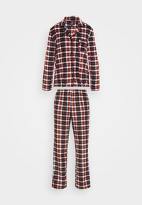 FESTIVE BEST SLEEP SET - Pigiama - black/multi plaid