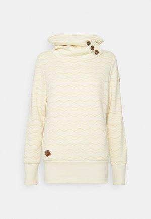 CHEVRON - Sweatshirt - vanilla