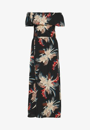 ONLALMA LIFE POLY OFF SHOULDER - Maxi dress - black