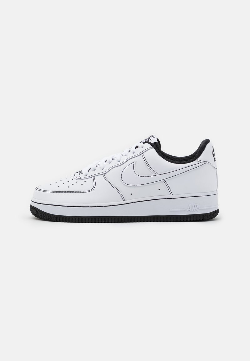 Nike Sportswear - AIR FORCE 1 '07 STITCH - Baskets basses - white/black