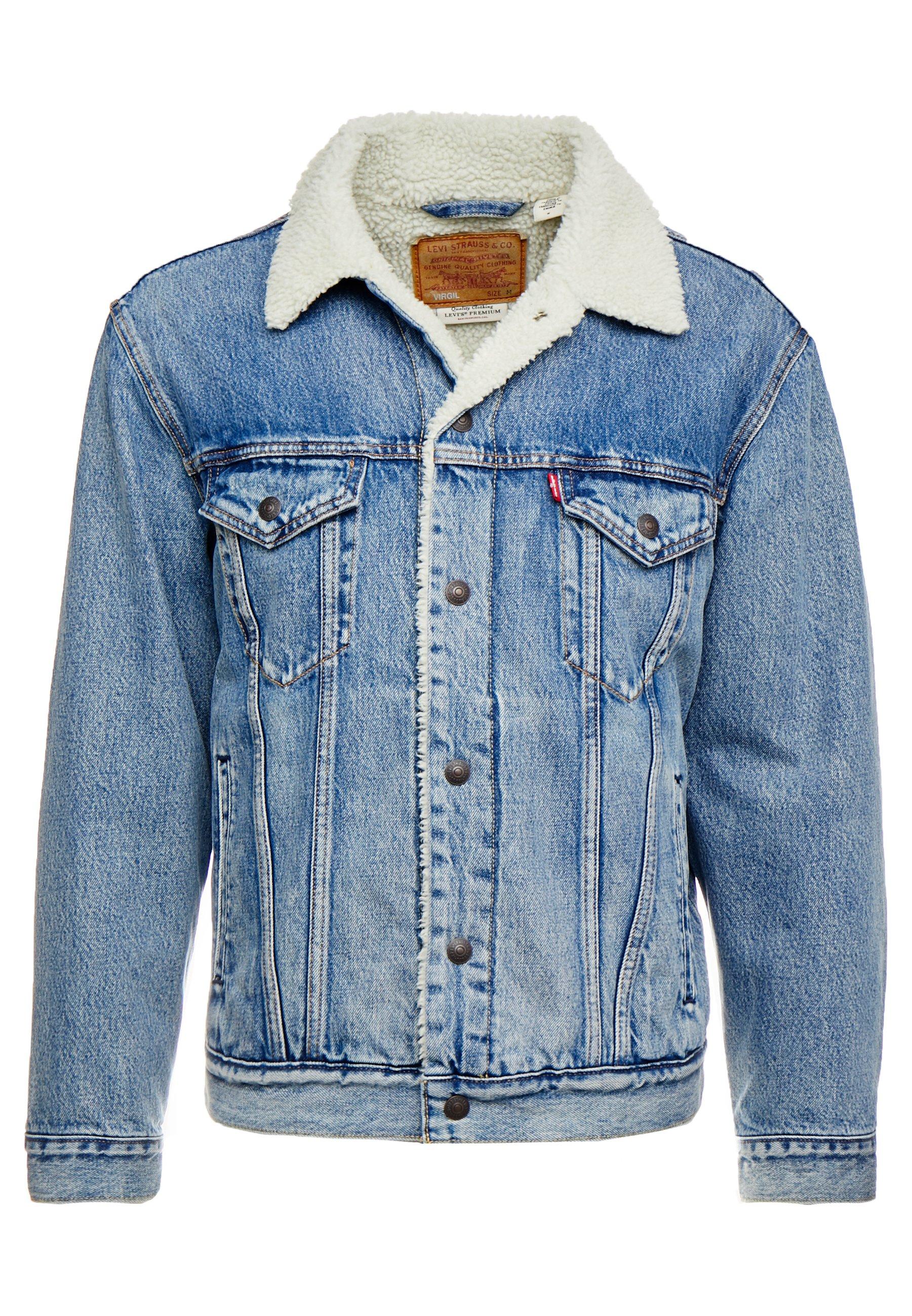 kurtki jeansowe meskie zalando