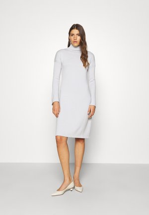 NAVILE - Jumper dress - platino