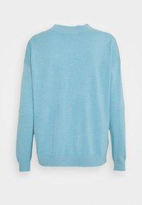 Marks & Spencer London - HIGH VEE - Strikkegenser - blue - 1