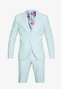 Isaac Dewhirst - PLAIN WEDDING - Oblek - mint - 11