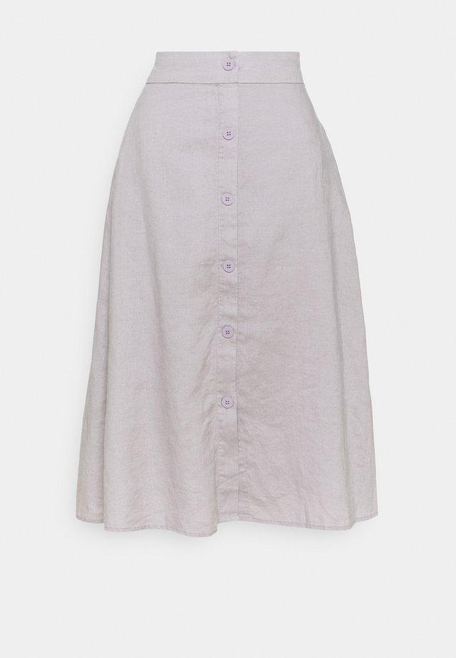 SKY SKIRT - Áčková sukně - mole grey