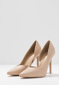 RAID - PEITRA - Zapatos altos - nude - 4