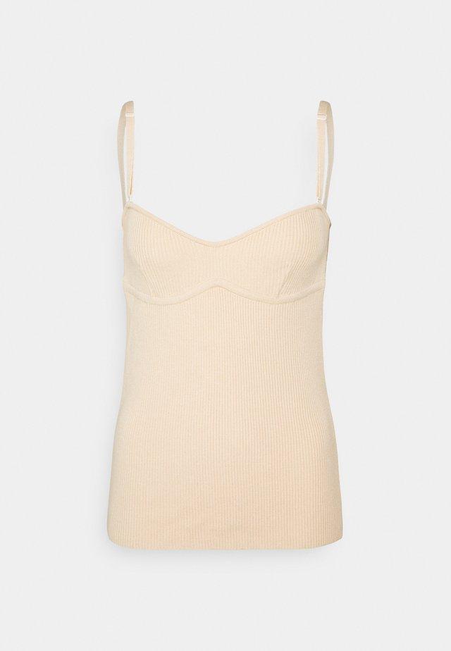 LULU - Pyjamasoverdel - light beige